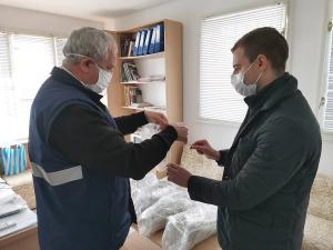 Дарението бе прието от директора на ЦСМП Красимир Михайлов